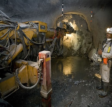 operation Underground mine in Palabora